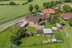 Luftaufnahmen eines Wohnhauses
